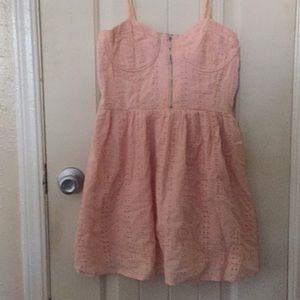 Baby Pink Baby Doll Dress Forever21